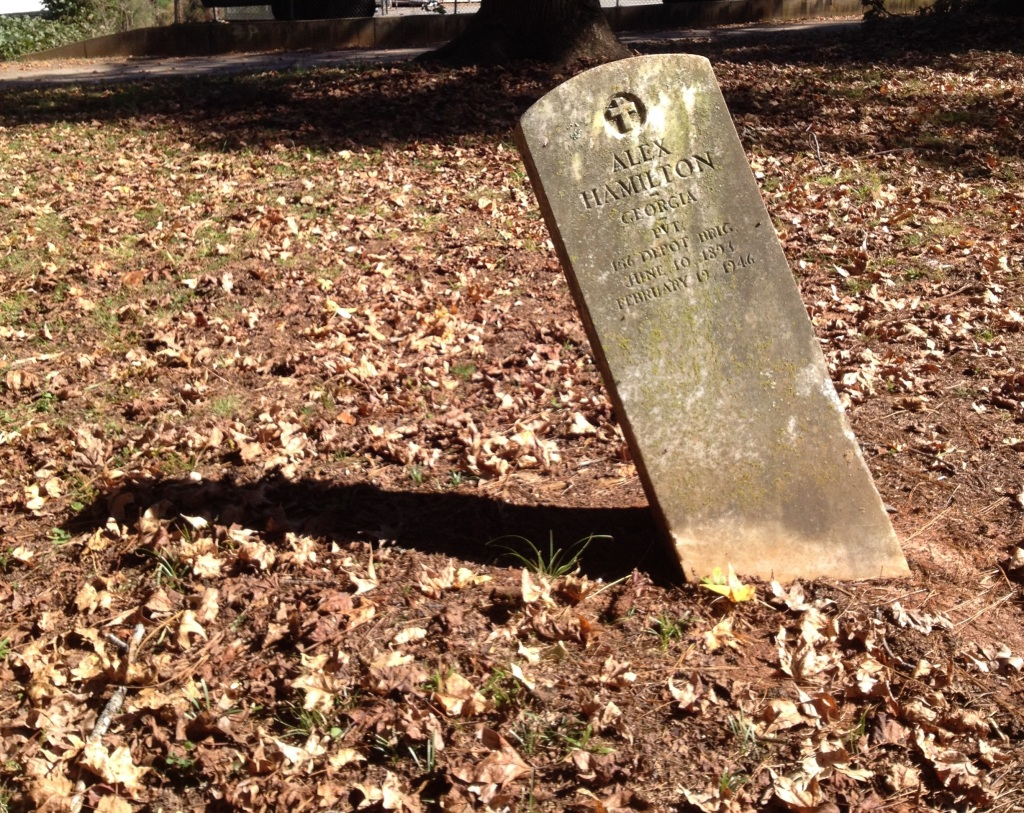 A Military Grave at Washington Memorial Gardens - History Atlanta 2014