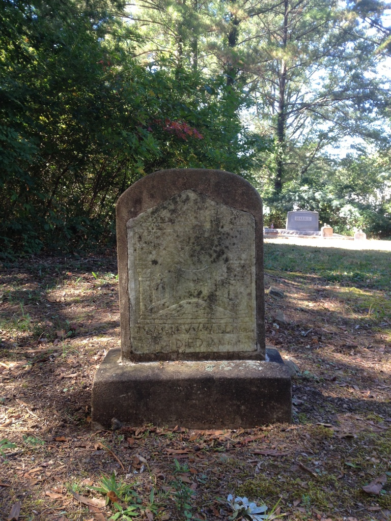 An Interesting Headstone at Scottdale Mills Cemetery - History Atlanta 2014
