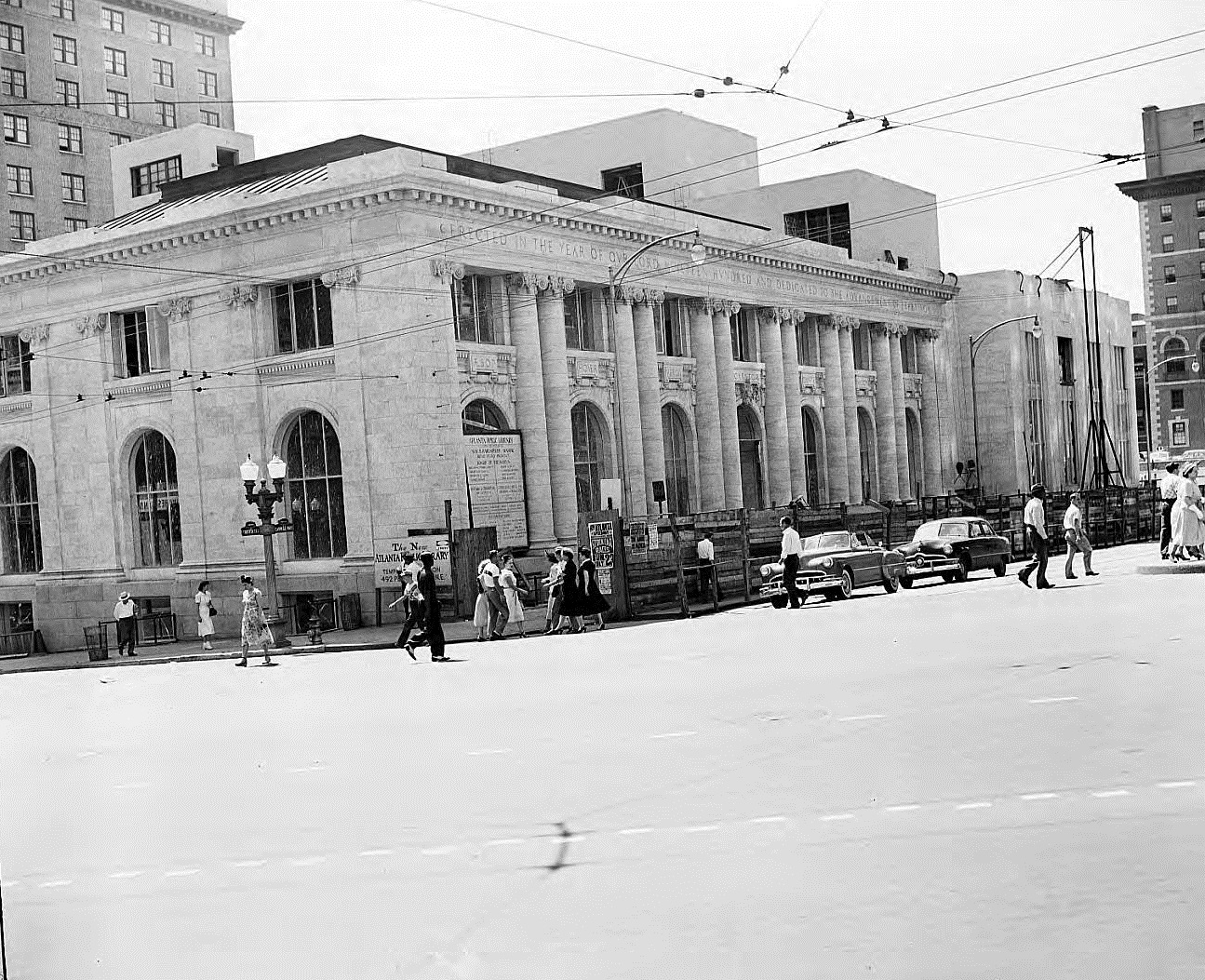 Carnegie Library Atlanta in 1950 - Georgia State University Library