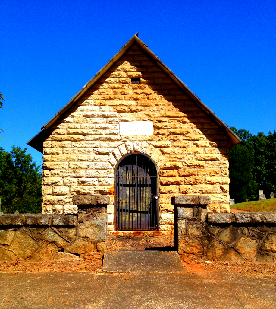 Donaldson Mausoleum Built in 1878 - History Atlanta 2014