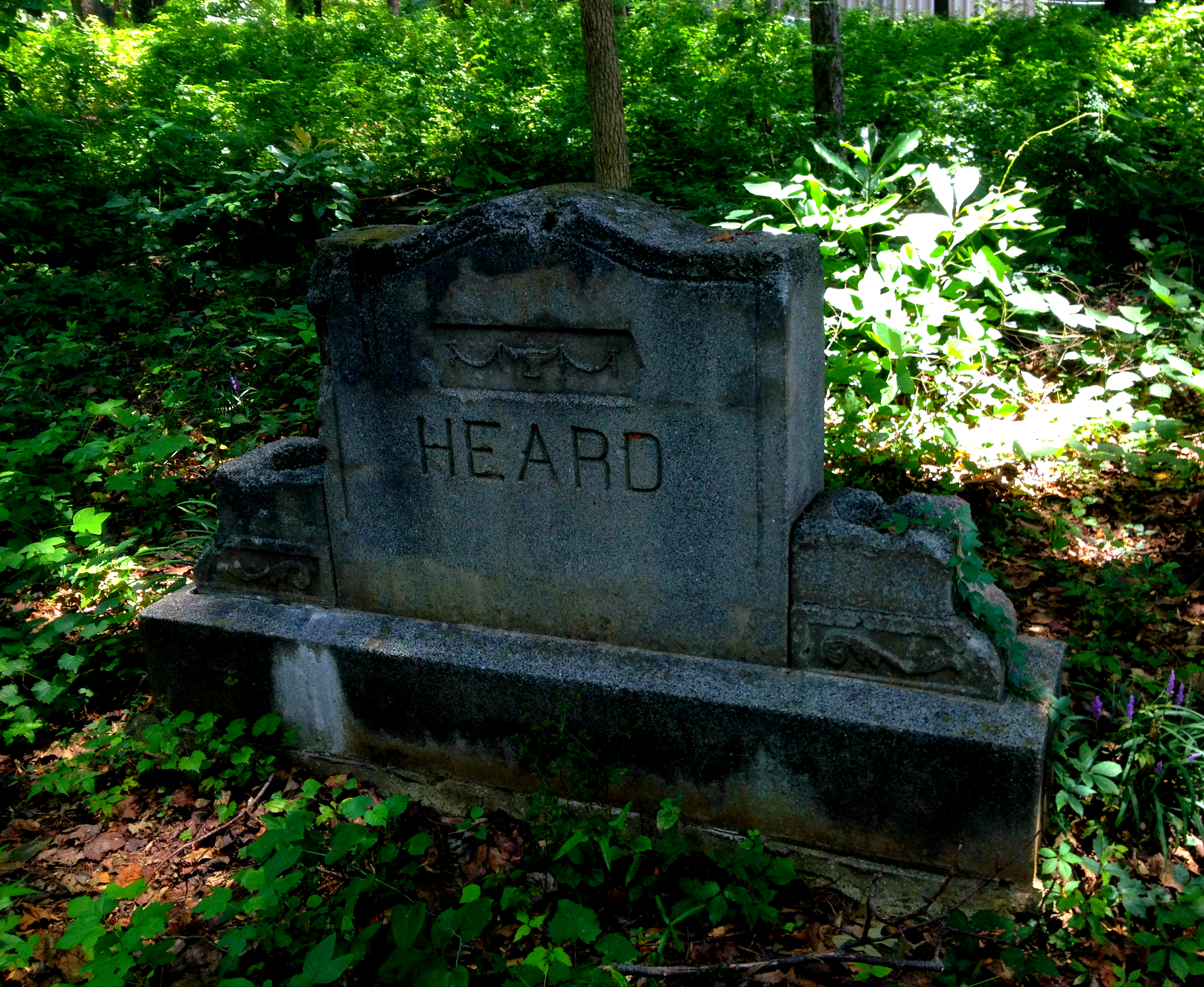 Heard Headstone - Thomasville Cemetery - History Atlanta 2014