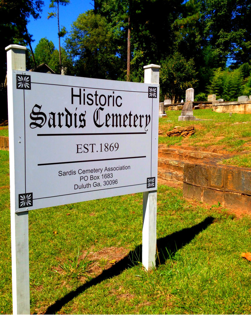 Historic Sardis Cemetery - Established 1869 - History Atlanta 2014