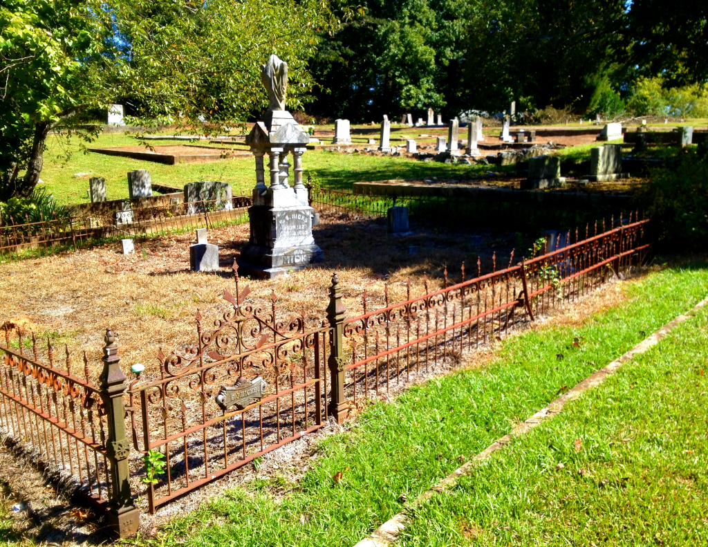 The Hicks Family Plot at Sardis Cemetery - History Atlanta 2014