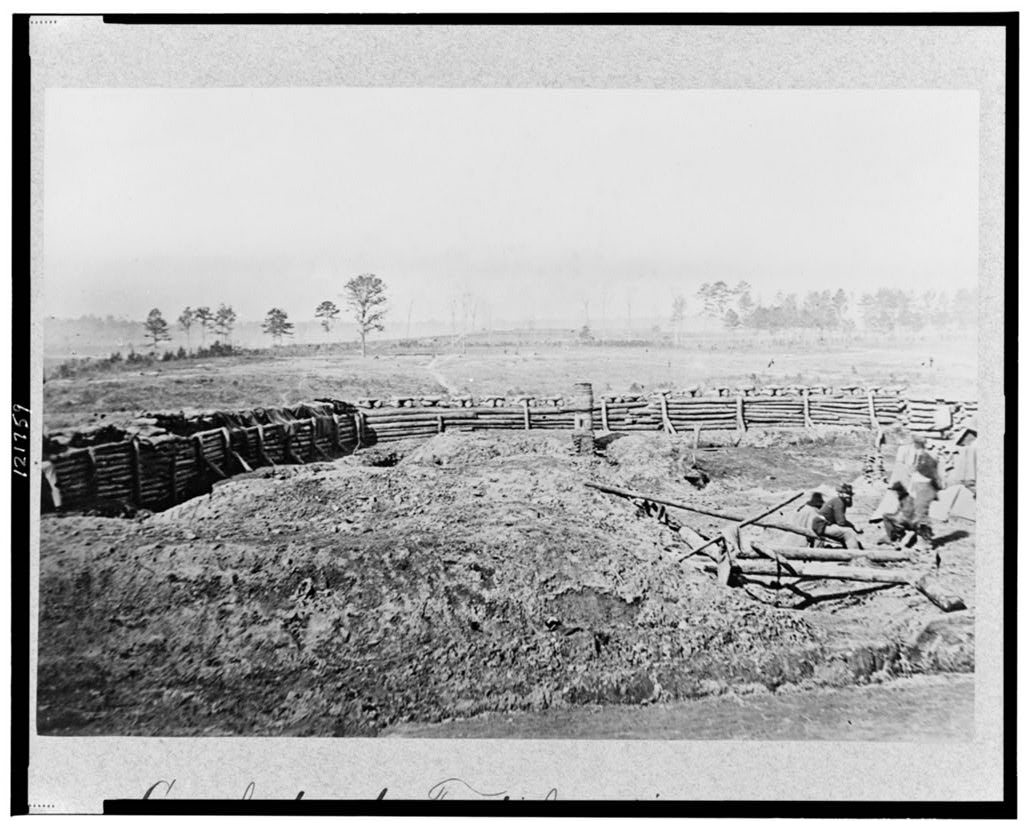 Another Confederate Fortification in Atlanta in 1864 - U.S. Library of Congress