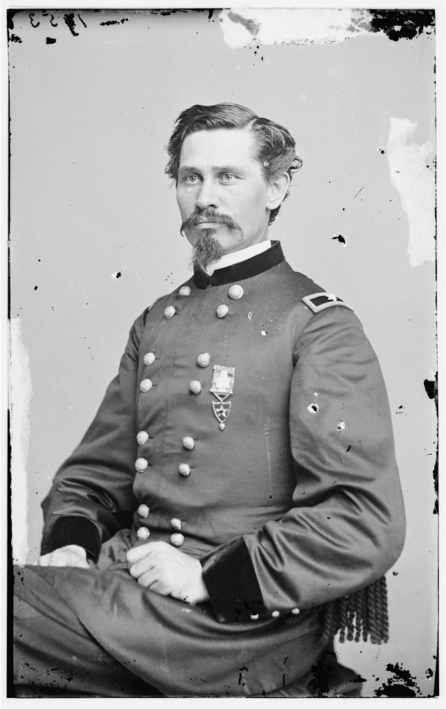 Portrait of Brig. Gen. Orlando M. Poe officer of the Federal Army between 1860 and 1865 - U.S. Library of Congress