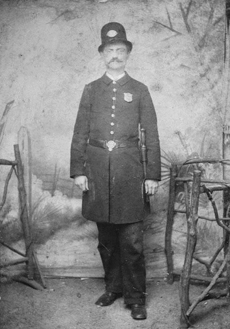 Officer Walton of Atlanta Police - Notes indicate he was on Atlanta's first police force but this in unconfirmed - Vanishing Georgia, Georgia Archives, University System of Georgia