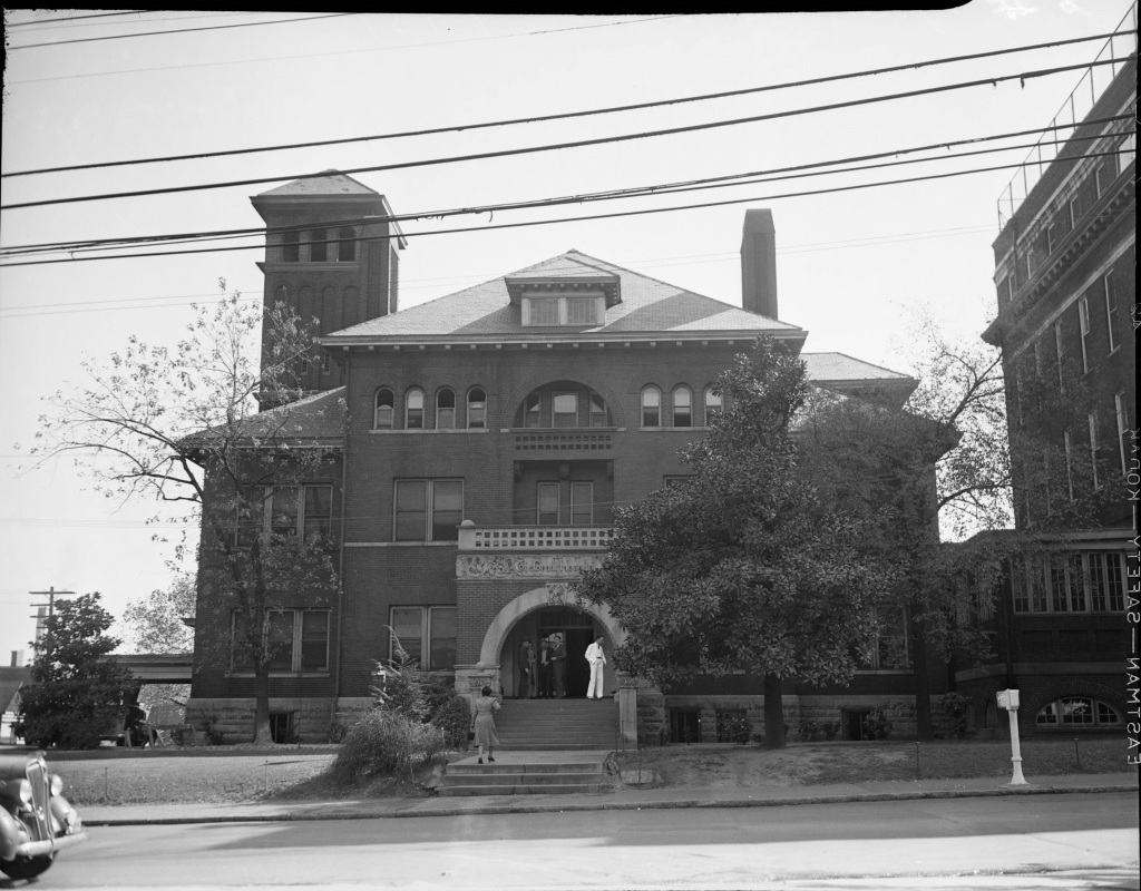 The Grady Hospital circa 1940 - Georgia Archives