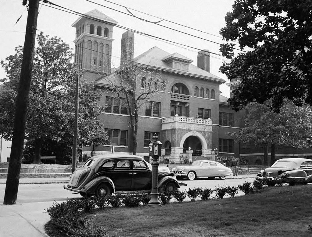 The Grady Hospital on November 11th, 1952 - Georgia State University Library