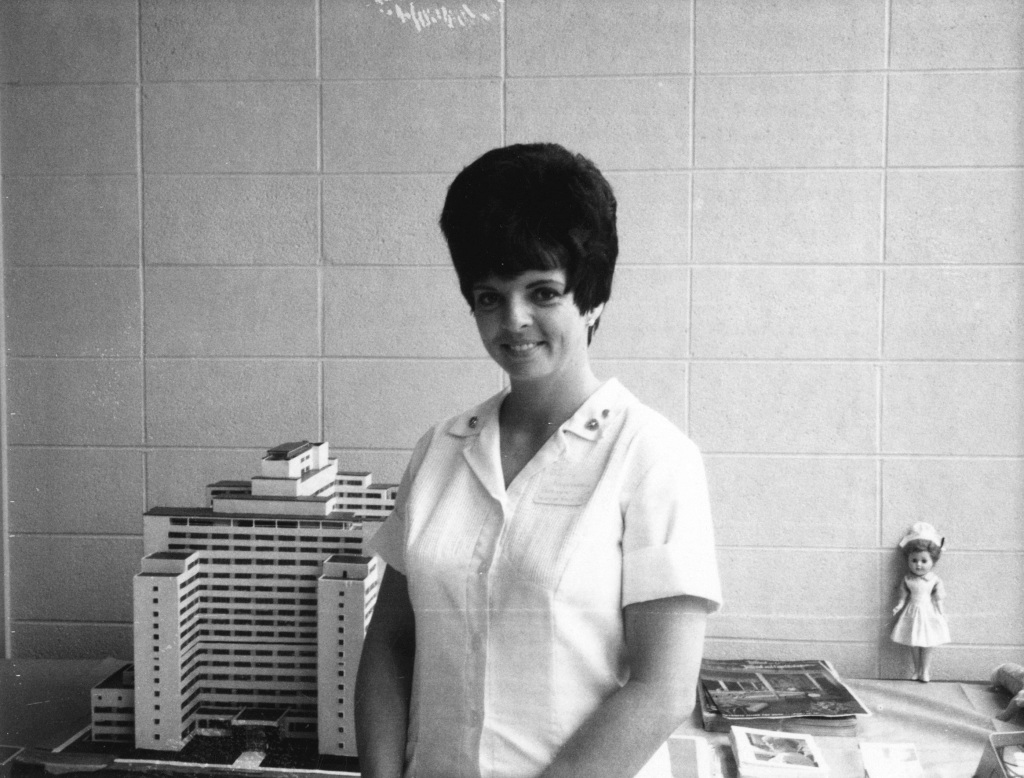 Unidentified Nurse at Grady Unknown Date - Georgia State University Library