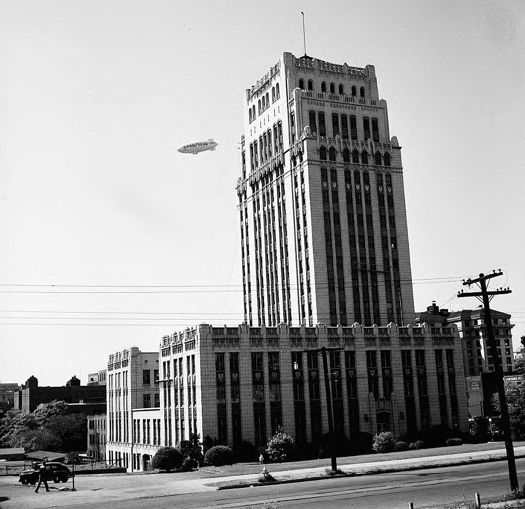 Atlanta City Hall in the 1950's - Georgia State University Library