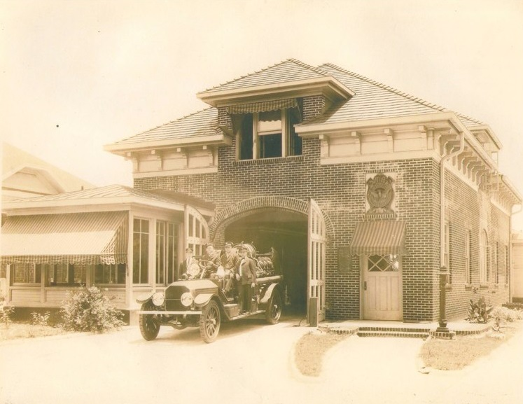 Atlanta Fire Station 19 in 1925 - Photo Courtesy of Fire Station 19